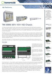 Transmode TM-series_Chassis_F_A4.cdr - CB Networks