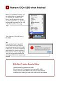 Getting started with G/On USB on Mac - Giritech - Page 7