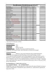 Bestellformular/ Direktlieferung aus Sri Lanka