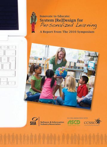 System [Re]Design for Personalized Learning - Software ...