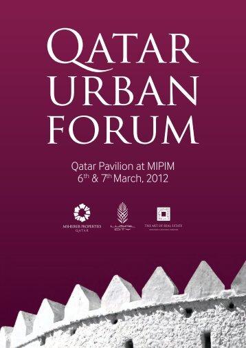 Qatar Urban Forum Program - Politecnico di Bari