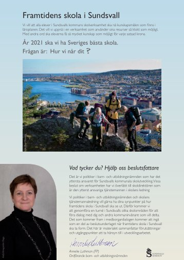 Framtidens skola i Sundsvall