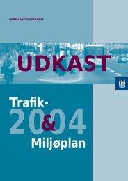 Forslag til Miljø- og trafikplan 2004