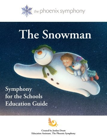 Symphony for the Schools Education Guide - Phoenix Symphony