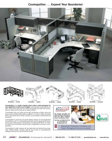 Systems Furniture and Panels - ATD American