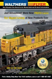 ho scale - Walthers