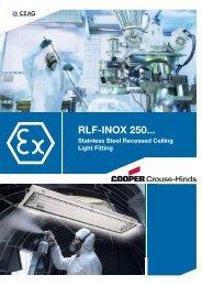 RLF-INOX 250... - Safeexit A/S