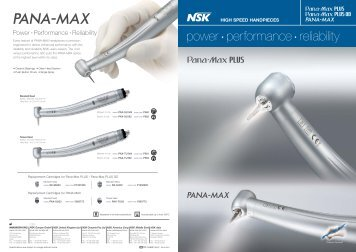 Pana-Max series brochure - PROFI - dental equipment