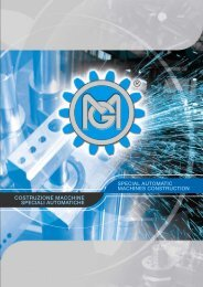 costruzione macchine speciali automatiche special ... - Temaco AG