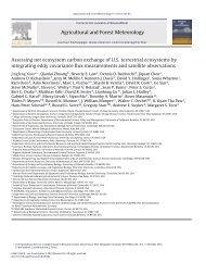 Assessing net ecosystem carbon exchange of U.S. terrestrial ...