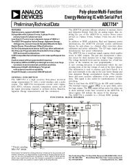 ADE7754 - SMD Technology Kft.