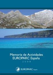 Memoria 2008 - EUROPARC-España
