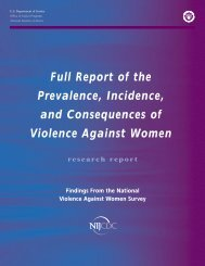 Full Report of the Prevalence, Incidence, and Consequences of ...