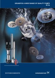 Grundfos a wide range of quality pumps 60 - Energy-efficient pumps ...
