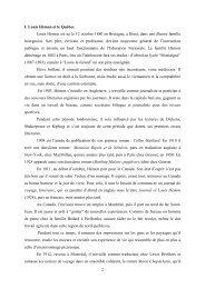 Glossaire de québécismes. - index page accueil