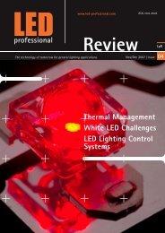 White LED Challenges LED Lighting Control Systems - fonarevka