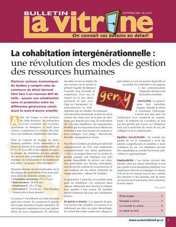 La Vitrine vol. 2, no 3 - Détail Québec