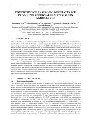 composting of anaerobic digestates for producing added ... - Ramiran