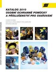 katalog 2010 osobní ochranné pomůcky a ... - Vše pro svařování