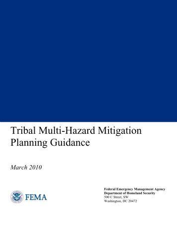 Tribal Multi-Hazard Mitigation Planning Guidance - Wyoming ...