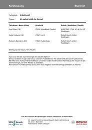 Arbeitswelt (PDF; 135 KB) - Bosch-Career
