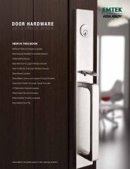 DOOR HARDWARE - Top Notch Distributors, Inc.