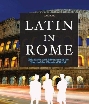 Latin in Rome