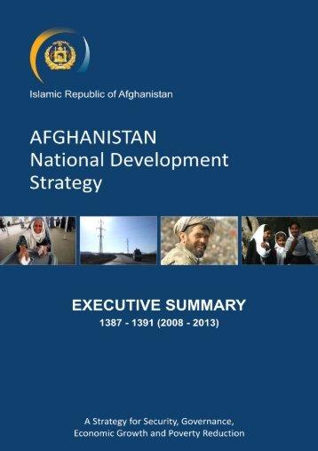 Islamic Republic of Afghanistan - Enhanced Integrated Framework ...