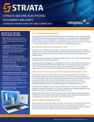 View Brochure - Neopost USA