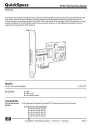 HP SC11Xe Host Bus Adapter