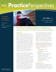 (ACE) Study: Implications for Mothers - National Association of ...