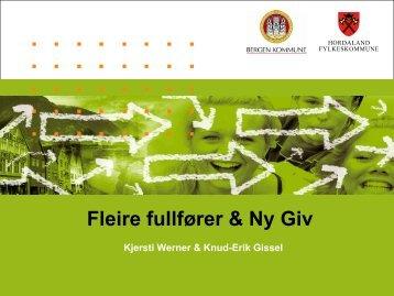 Fleire fullfører & Ny Giv - Sør-Trøndelag fylkeskommune