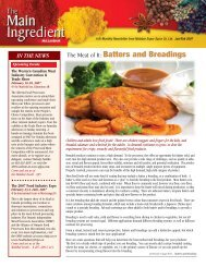 The Meat of It: Batters and Breadings - Malabar Super Spice