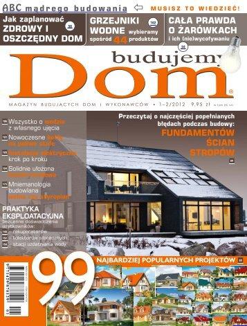 Budujemy Dom 1-2/2012 - UlubionyKiosk