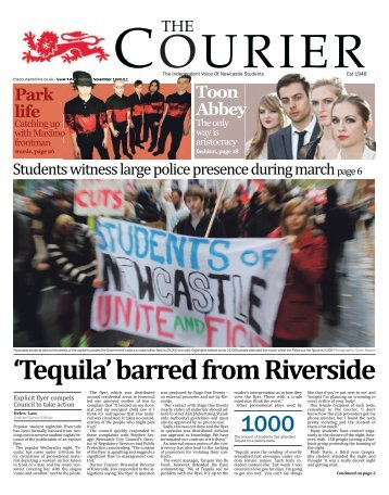 14th November (Issue 1238) - The Courier