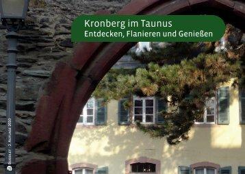 Kronberg im Taunus - Entdecken, Flanieren, Genießen Dez 10