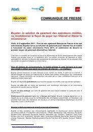 Buyster - Communiqué de Presse du 8 septembre 2011 - Bouygues
