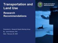 Transportation and Land Use - Climate Change in Alaska