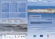 Information flyers - Marine Protected Areas in the Eastern Baltic Sea