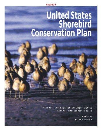 United States Shorebird Conservation Plan Council Organizations