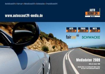 Mediadaten 2009 www.autoscout24-media.de