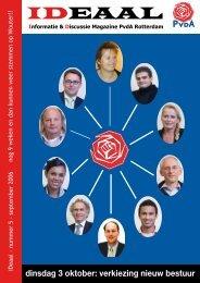 ideaal september 2006.pdf - PvdA Rotterdam