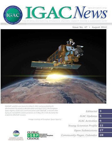 Issue 47 Aug 2012 - IGAC Project