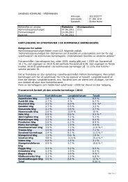 Kartlegging av sykefravær i de kommunale barnehagene - Sandnes ...