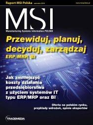 Raport MSI Polska: Jak zmniejszyć koszty działania
