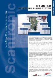 4792CS 8136-50 Datasheet - Cooper Security