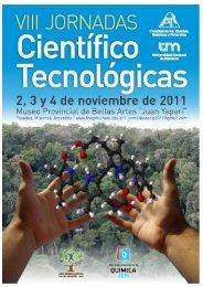 JORNADAS CIENTÍFICO - Facultad de Ciencias Exactas, Químicas ...