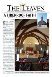 the new st. ann church in effingham is dedicated - The Leaven