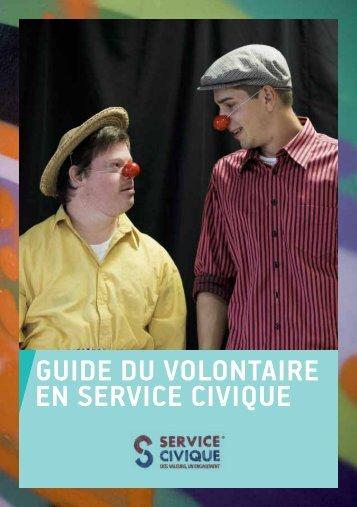 GUIDE DU VOLONTAIRE EN SERVICE CIVIQUE