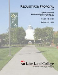 10003 Charter Bus Service RFP - Lake Land College-Cosmetology